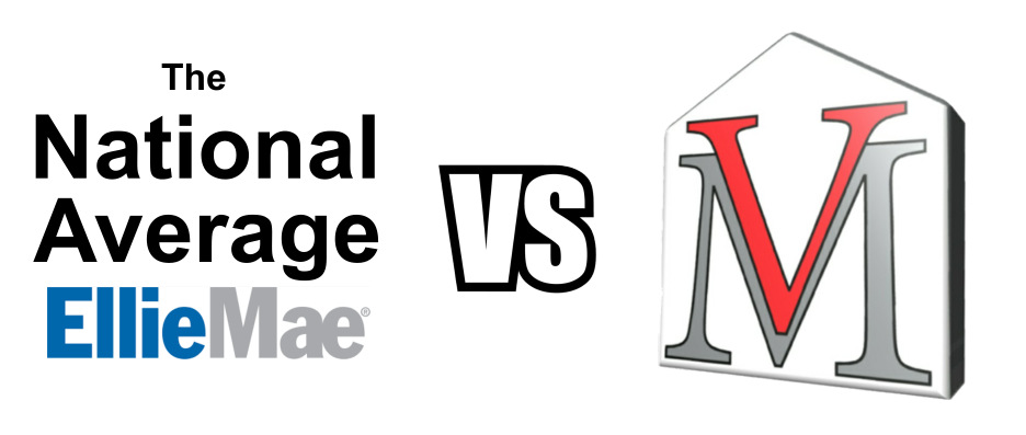 The National Average VS. Vantage Mortgage Group